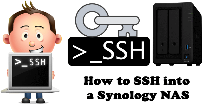 How to SSH into a Synology NAS