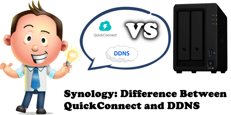 Synology: Difference Between QuickConnect and DDNS