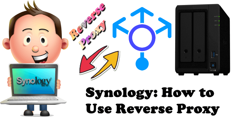 Synology How to Use Reverse Proxy