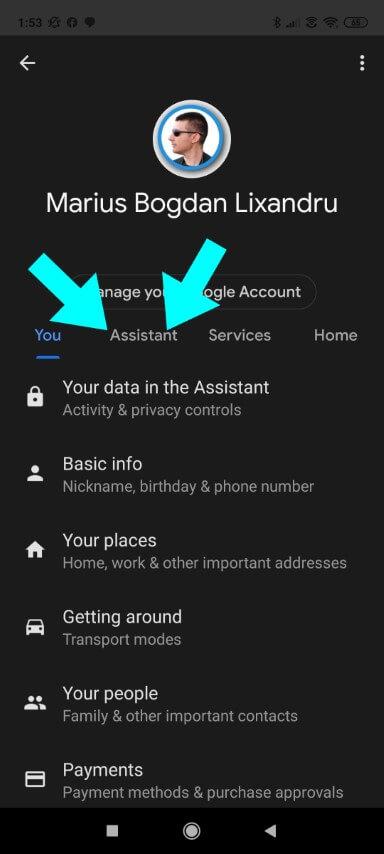 Step 5 Google assistant