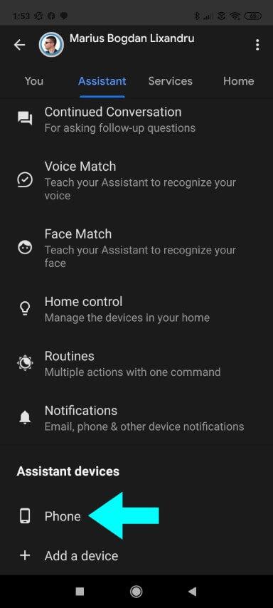 Step 6 Google assistant