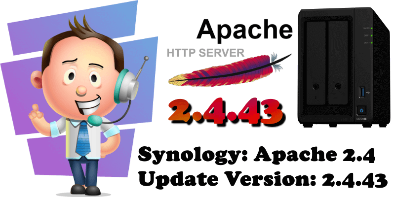 Synology Apache 2.4 Update Version 2.4.43