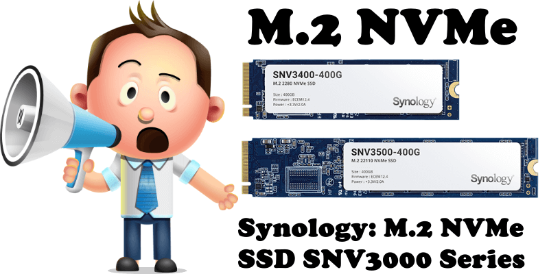 Synology M.2 NVMe SSD SNV3000 Series