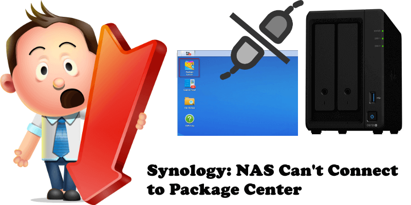 Synology NAS Can't Connect to Package Center