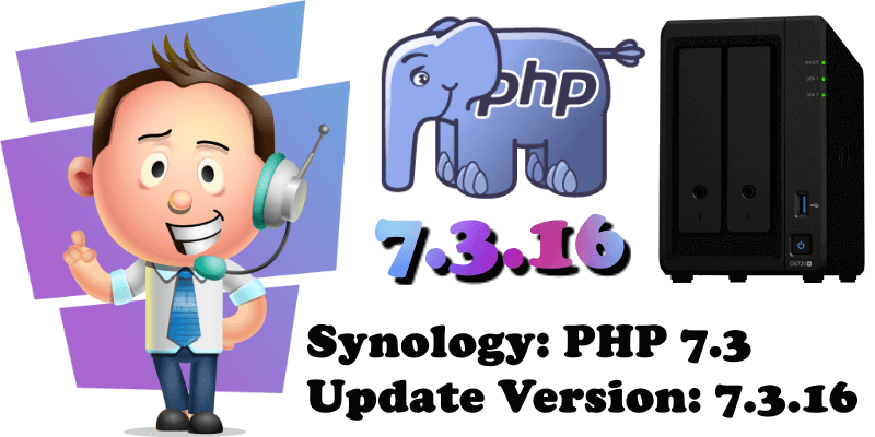Synology PHP 7.3 Update Version 7.3.16