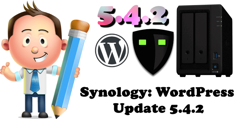Synology WordPress Update 5.4.2