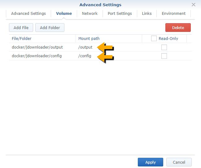 10 Synology JDownloader