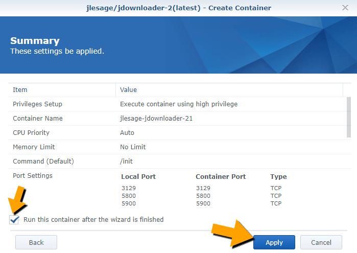 13 Synology JDownloader