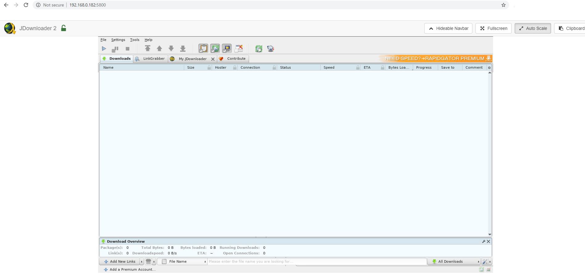 15 Synology JDownloader