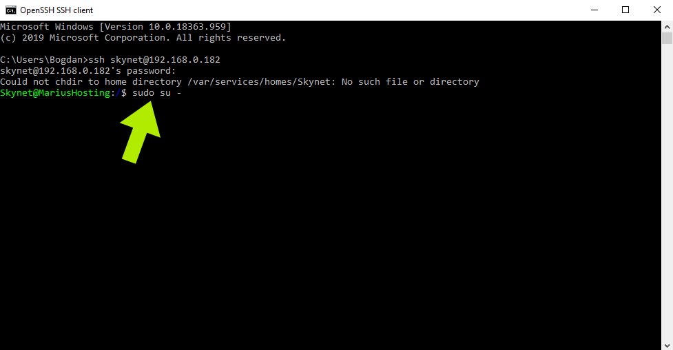 9 Portainer Synology Command Prompt