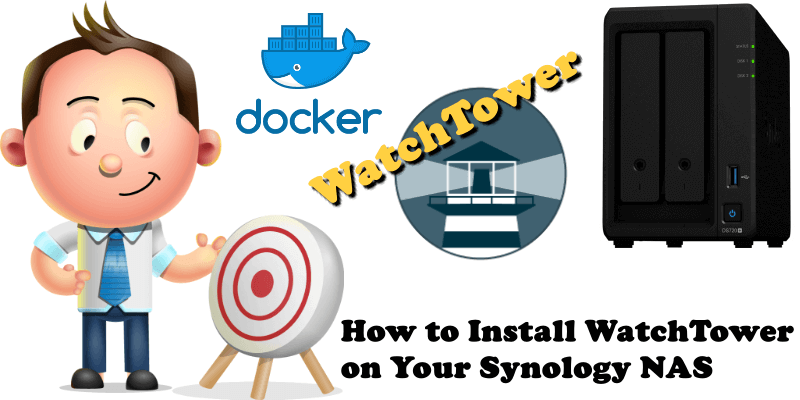 How to Install Watchtower on Your Synology NAS