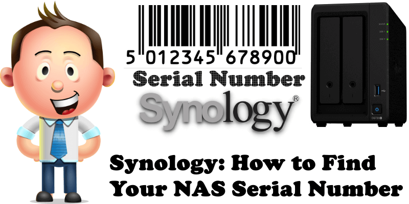 Synology How to Find Your NAS Serial Number