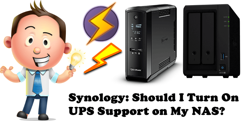 Synology Should I Turn On UPS Support on My NAS