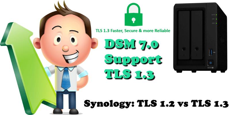 Synology TLS 1.2 vs TLS 1.3