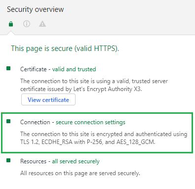 mariushosting SSL 1.2
