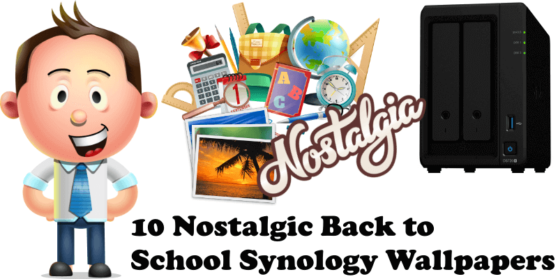 10 Nostalgic Back to School Synology Wallpapers