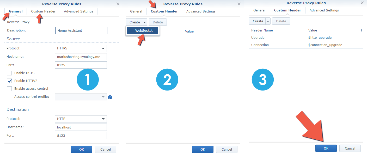 2 Synology NAS Home Assistant setup HTTPS SSL