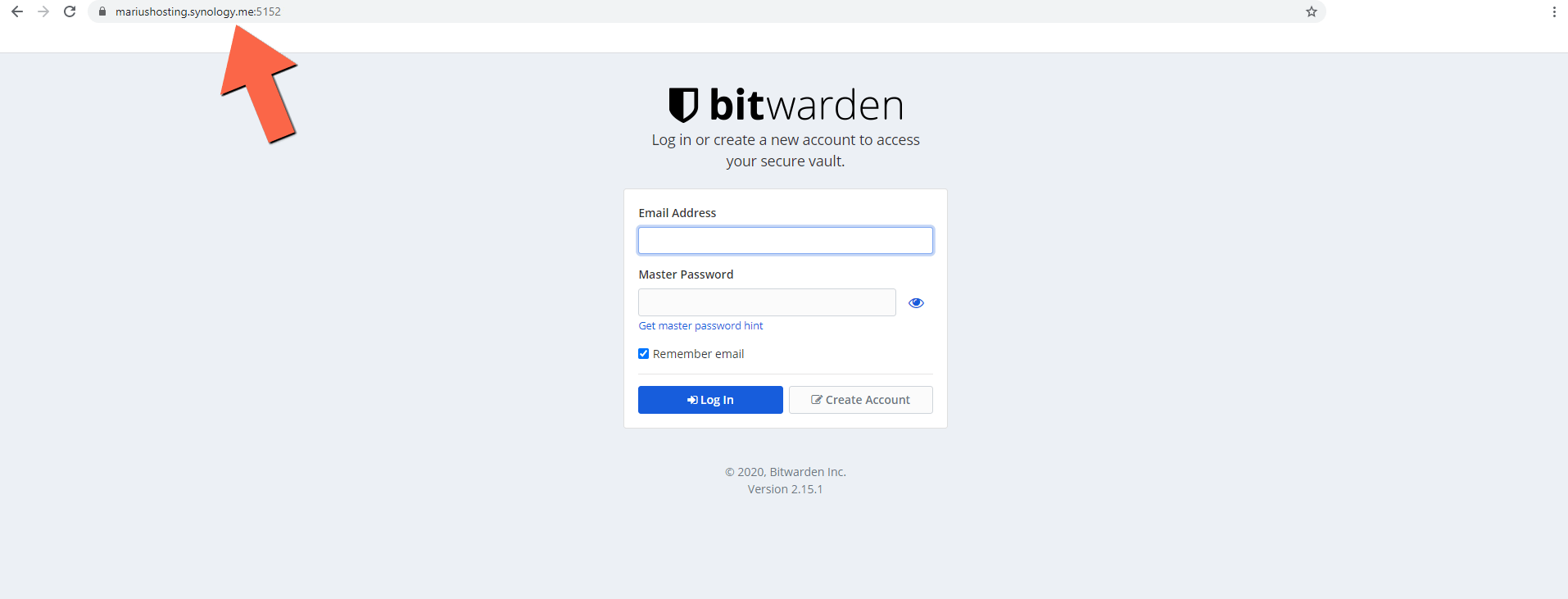 5 Synology NAS BitWarden setup HTTPS SSL