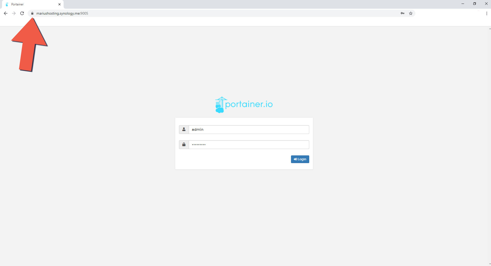 5 Synology NAS Portainer setup HTTPS SSL
