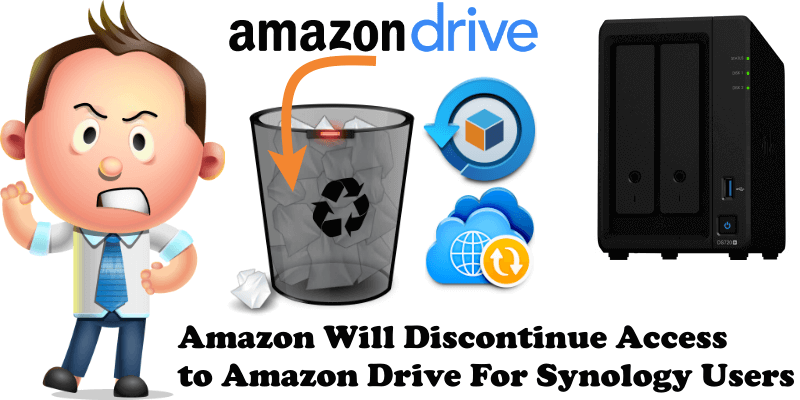 Amazon Will Discontinue Access to Amazon Drive For Synology Users