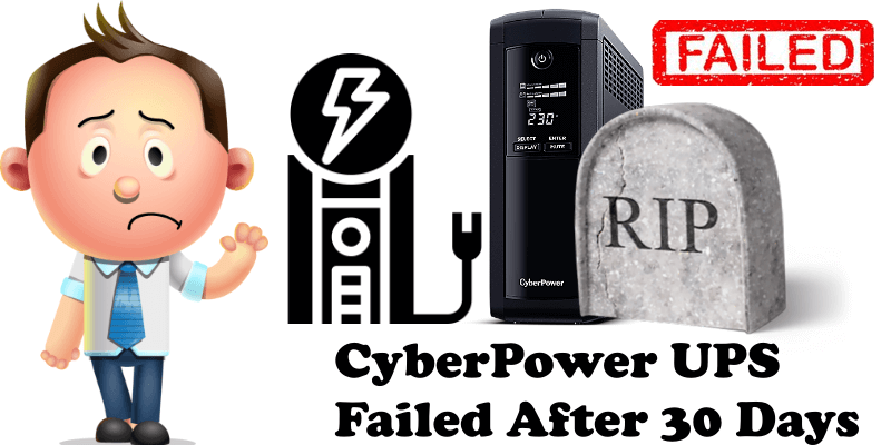 CyberPower UPS Failed After 30 Days