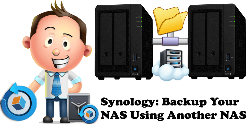 Synology Backup Your NAS Using Another NAS