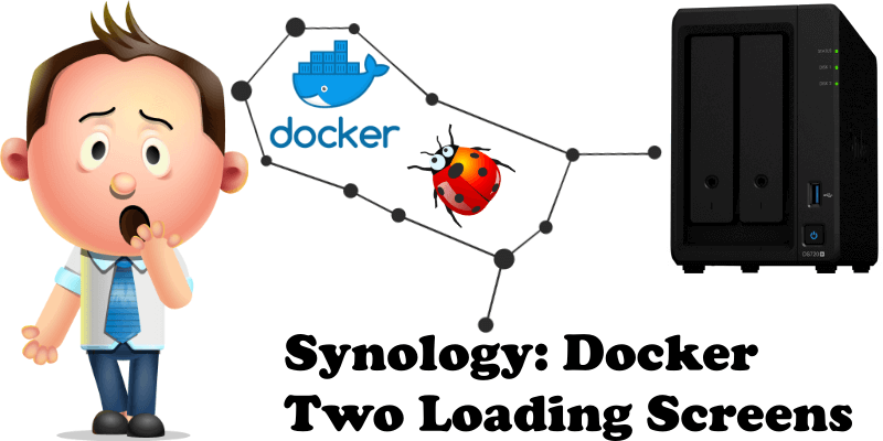Synology Docker Two Loading Screens