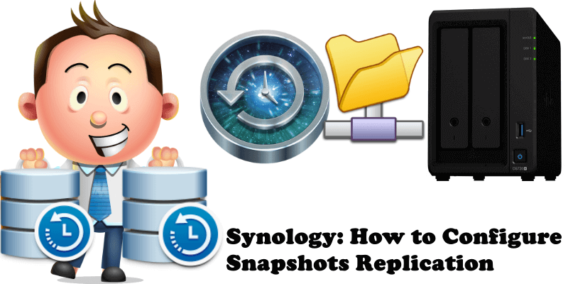 Synology How to Configure Snapshots Replication