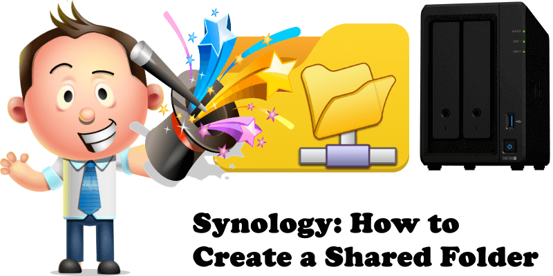 Synology How to Create a Shared Folder