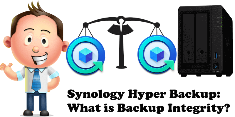 Synology Hyper Backup What is Backup Integrity