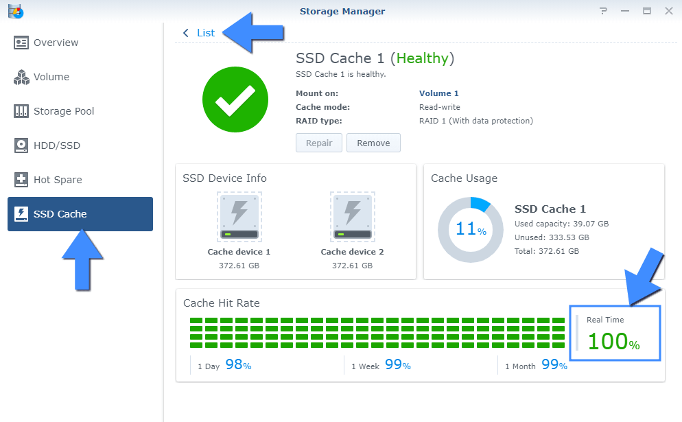 Synology M.2 NVMe SSD Cache Benefits 1