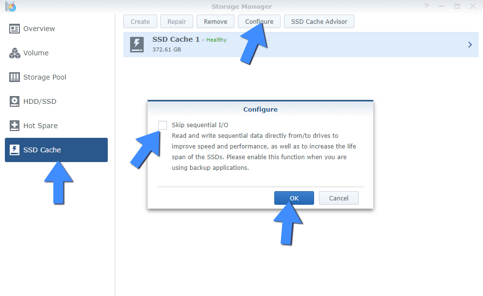 Synology M.2 NVMe SSD Cache Benefits 2