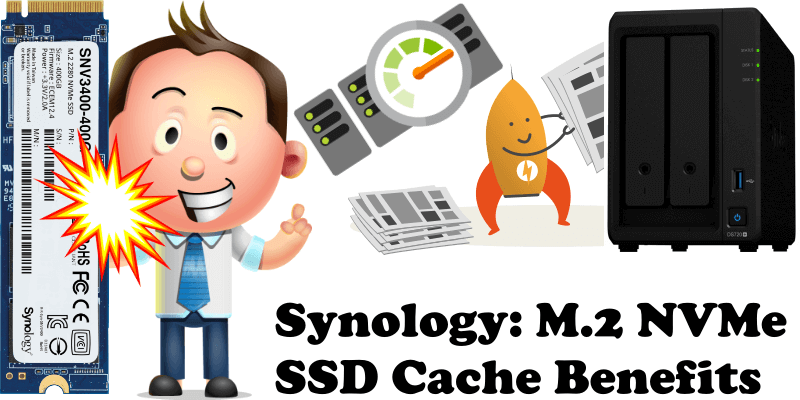 Synology M.2 NVMe SSD Cache Benefits