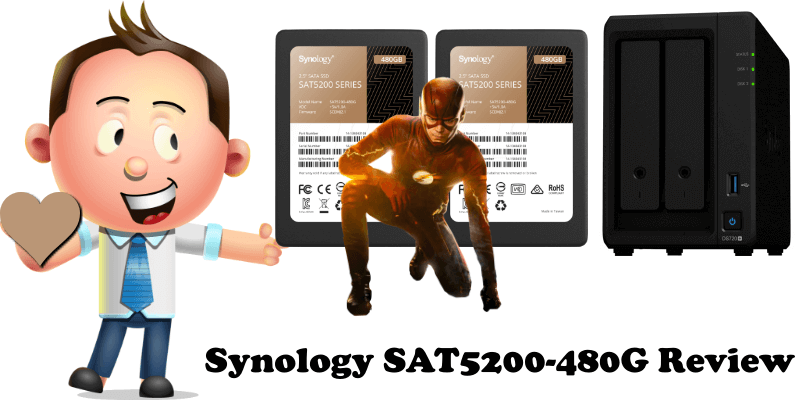 Synology SAT5200-480G Review