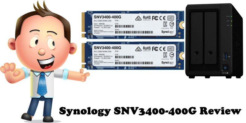 Synology SNV3400-400G Review
