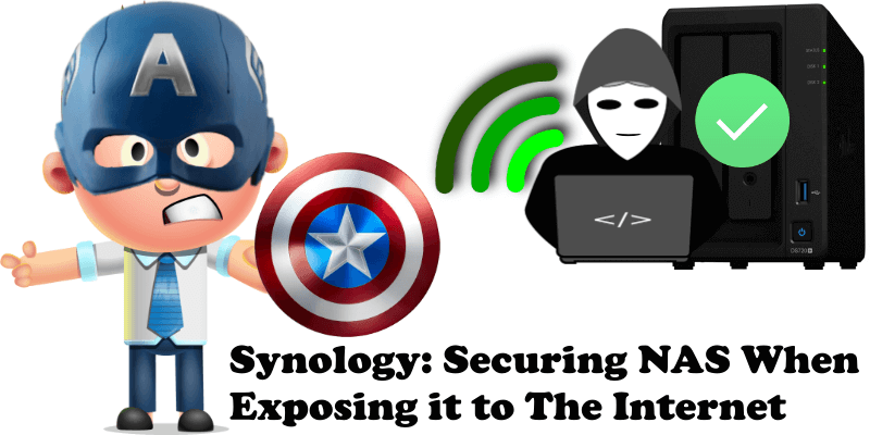 Synology Securing NAS When Exposing it to The Internet