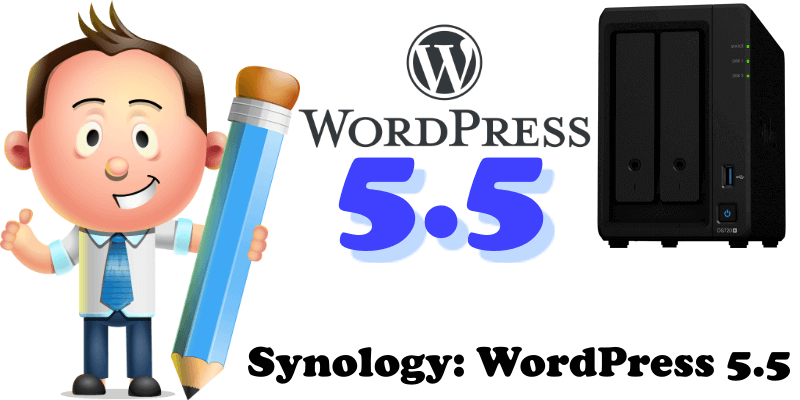 Synology WordPress 5.5