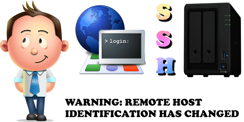 WARNING REMOTE HOST IDENTIFICATION HAS CHANGED