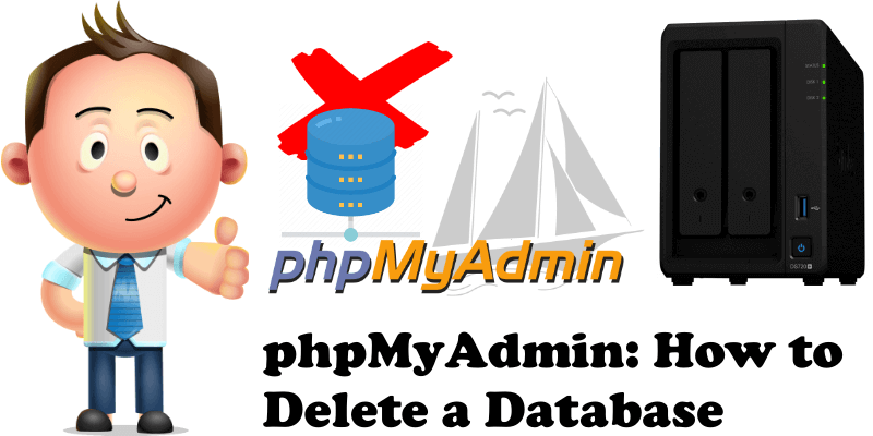 phpMyAdmin How to Delete a Database
