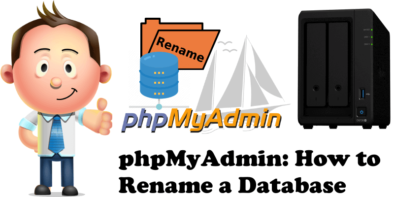 phpMyAdmin How to Rename a Database