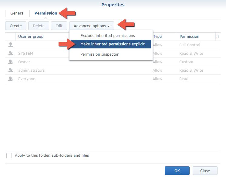 4 Install PrivateBin Synology NAS set up filestation
