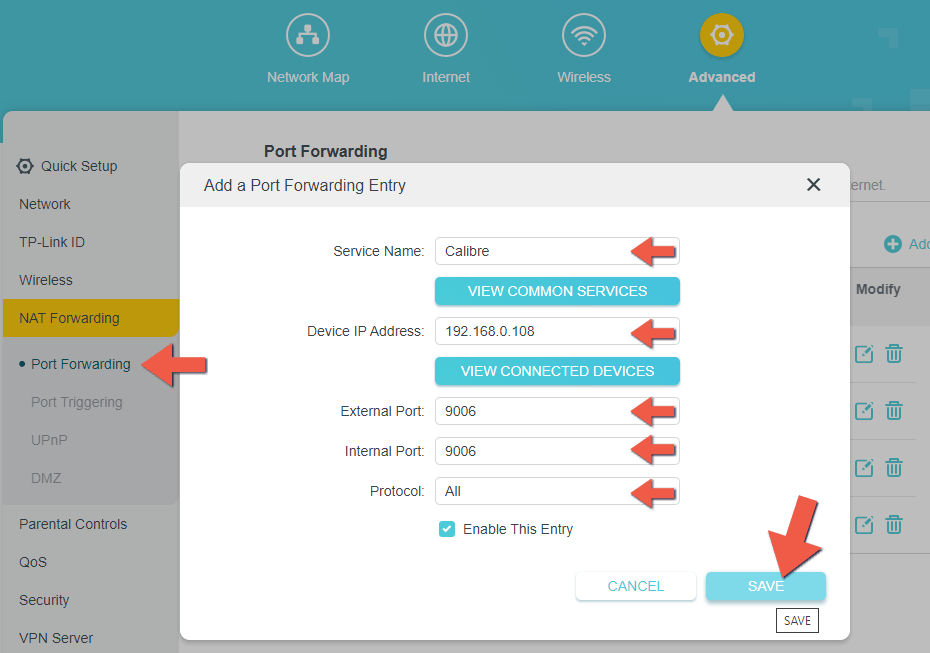 4 Synology NAS Calibre setup HTTPS SSL