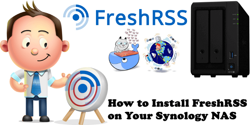 How to Install FreshRSS on Your Synology NAS