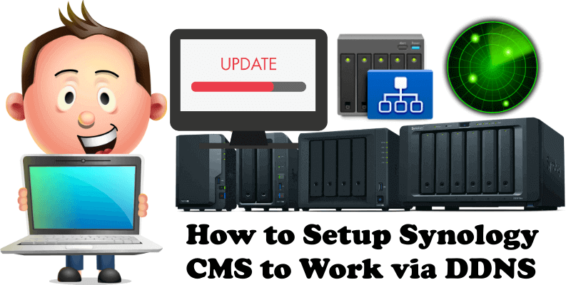 How to Set up Synology CMS to Work via DDNS