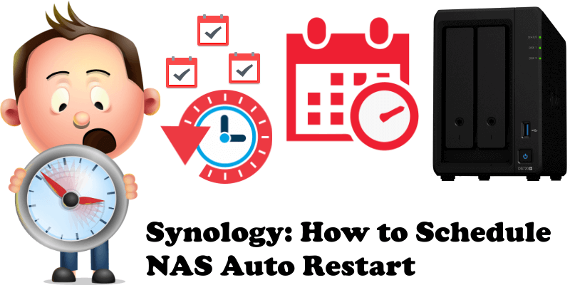 Synology How to Schedule NAS Auto Restart