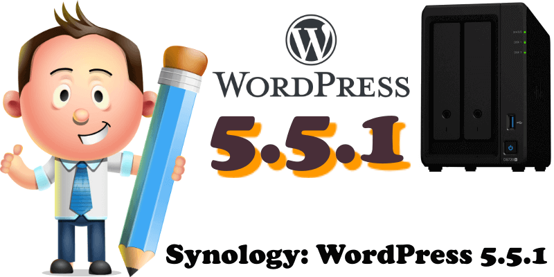 Synology WordPress 5.5.1