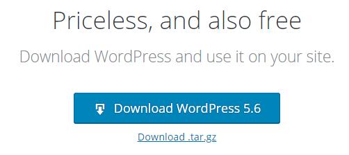 Synology WordPress 5.6 released