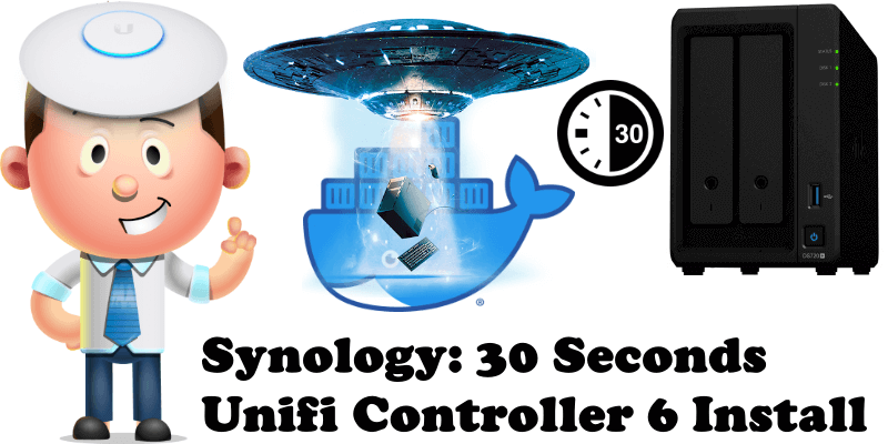 Synology 30 Seconds Unifi Controller 6 Install