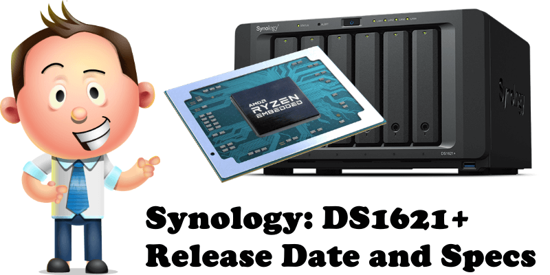 Synology DS1621+ Release Date and Specs