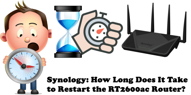 Synology How Long Does It Take to Restart the RT2600ac Router